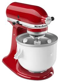 Quilted Kitchen Appliance Covers Amazoncom Kitchenaid Kica0wh Ice Cream Maker Attachment