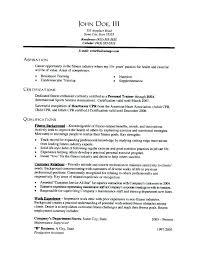 Personal Trainer Resume Template Custom Personal Trainer Resume Examples Personal Trainer Resume Sample
