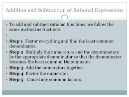 adding subtracting rational expressions like rational expressions