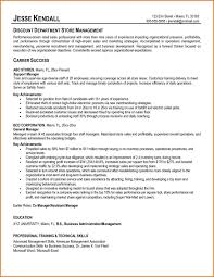 resume examples free example resumes and resume retail store manager resume examples