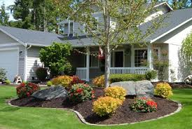 simple landscaping ideas. Simple Landscape Ideas For Front Of House 8 Landscaping On A Budget