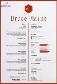 Cool Resumes Templates Gorgeous Awesome Cv Template Funfpandroidco