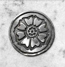 The Order of the White Lotus coin — Olive.