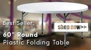 60 round folding table lifetime commercial grade nesting white granite