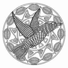 free mandala coloring pages for adults printables.  Printables A Bird Mandala Coloring Page Throughout Free Mandala Coloring Pages For Adults Printables L