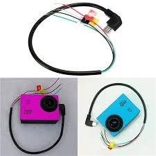 usb to av out cable wire for sj4000 sport action camera for fpv buy quality camera slings directly from camera fan suppliers descriptionfeatures please notice only the latest sj4000 camera can support av out
