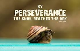 Charles Spurgeon Quotes Unique Charles Spurgeon Quote By Perseverance The Snail Reached The Ark