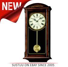sentinel seiko ogue pendulum wall clock westminster whittington chimes mdf case new