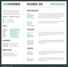 Resume Tile Best Html Templates For Awesome Personal Sites Example