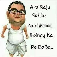 good morning funny image status