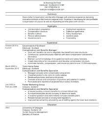 Sample Modern Resume Modern Resume Samples Human Resources Manager