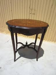 charming antique accent table occasional tables lamp side round oak