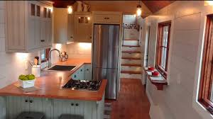 House Kitchen Gorgeous Luxury Tiny House With A Full Kitchen Youtube