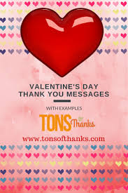 valentine s day thank you messages examples