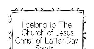 I Belong To The Church Of Jesus Christ Flip Chart I Belong To The Church Of Jesus Christ Flip Chart Jesus