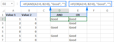 Basic Excel Formulas Functions With Examples