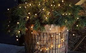 planter lighting. 6 Brilliant Ideas For Outdoor Christmas Lighting Planter E