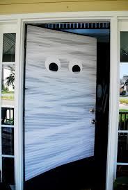 Holidays halloween  Crepe paper ghost door