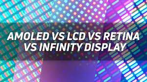 AMOLED vs IPS LCD vs Retina vs Infinity ...