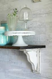 Unfinished Corner Shelves Unfinished Wood Shelf Farmhouse Shelves So Easy To Make Your Own 75