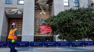 Rockefeller Center Christmas tree ...