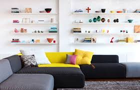 Brilliant Living Room Shelf Designs Fascinating Modern Living