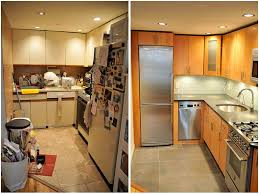finished kitchen remodel before and after home ideas collection