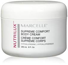Nutrilux Hair Colour Chart Marcelle Nutrilux Supreme Comfort Body Cream Hypoallergenic And Fragrance Free 8 Fl Oz