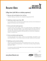 Hospitality Resume Objective Examples Career Management Industry