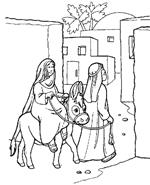 Bijbelse Kleurplaat Kerstfeest