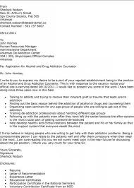 Counseling Cover Letter Sample Guve Securid Co For School