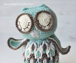 Free Owl Crochet Pattern Simple Decorating Design