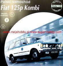 Polski Samochód Fiat 125p Kombi Karetka Answer -ET1-2010