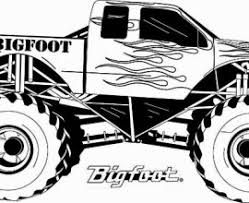 Small Picture Monster Jam Truck Coloring Pages Printable Monster Jam Monster