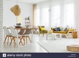 Colorful modern furniture Wallpaper Colorful Bright Spacious Room With Wooden Modern Furniture Stock Image Tuckrbox Colorful Modern Dining Room Stock Photos Colorful Modern Dining