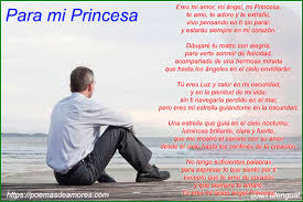 para mi princesa poema de mi vida mi