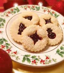 Finally, christmas is around the corner and its time for cookies & cakes. Linzer Lemon Raspberry Cookies Norine S Nest