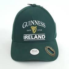 Dubli Stock Chart Details About Guinness Beer Ireland Hat Bottle Opener Baseball Cap Strapback
