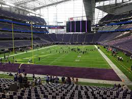 Us Bank Stadium View From Section 118 Vivid Seats