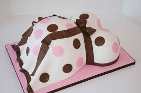 Baby Bump Shower Cake New Jersey Specialty Cakes Sweet Grace