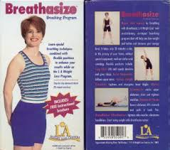 VHS: L.A. WEIGHT LOSS CENTERS BREATHASIZE BREATHING PROGRAM | eBay
