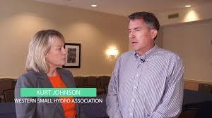 Kurt Johnson, President, Western Small Hydro Association - Industry  Viewpoints - Hydro TV
