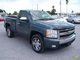 2007 Blue Granite Metallic Chevrolet Silverado 1500 LT Z71 Regular ...