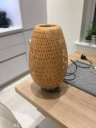 Ikea Böja Table Lamp Material Nickel Platedbamboo 1 Year Old Perfect Condition In Topsham Devon Gumtree