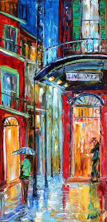 original painting new orleans french quarter jazz by karensfineart love local artist of new orleans