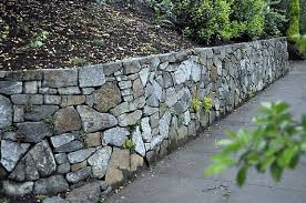 Small Picture rock retaining wall design ideas Gardenoutdoor Pinterest
