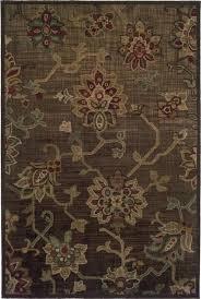 oriental weavers windsor 3 piece area rug set brown rugs flooring