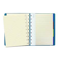 Launching Notebook With Colored Pages Amazon Com Filofax Refillable