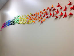 origami erfly rainbow wall 4th 5th grade gallery 3 of 15