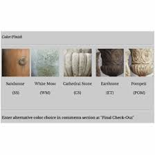 Cathedral Stone Color Chart Color Chart Orlandi Fs